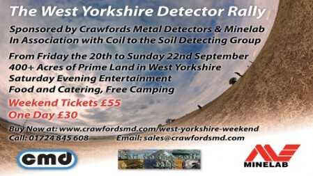metal detecting rally