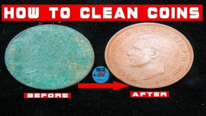 coin cleaning methods